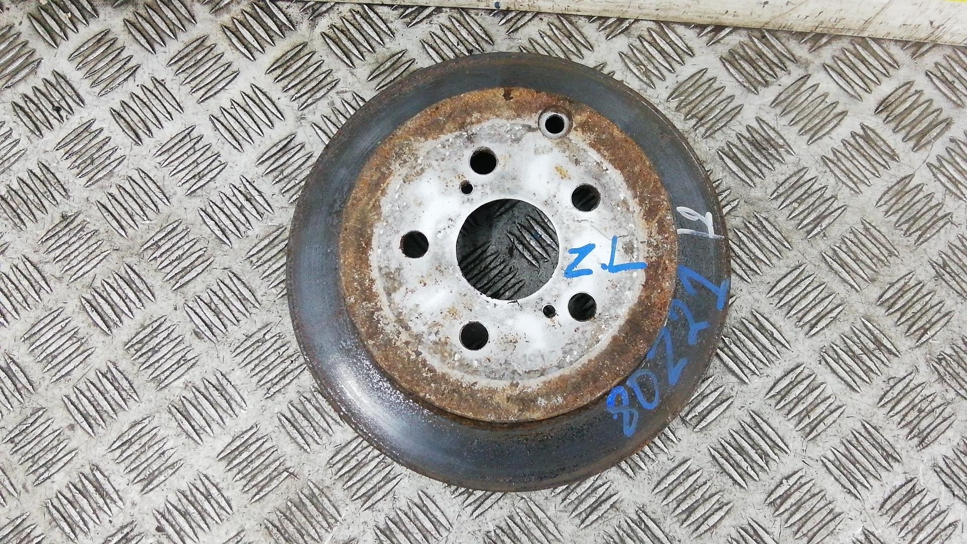 Диск тормозной задний, TOYOTA, PRIUS XW20, 2005