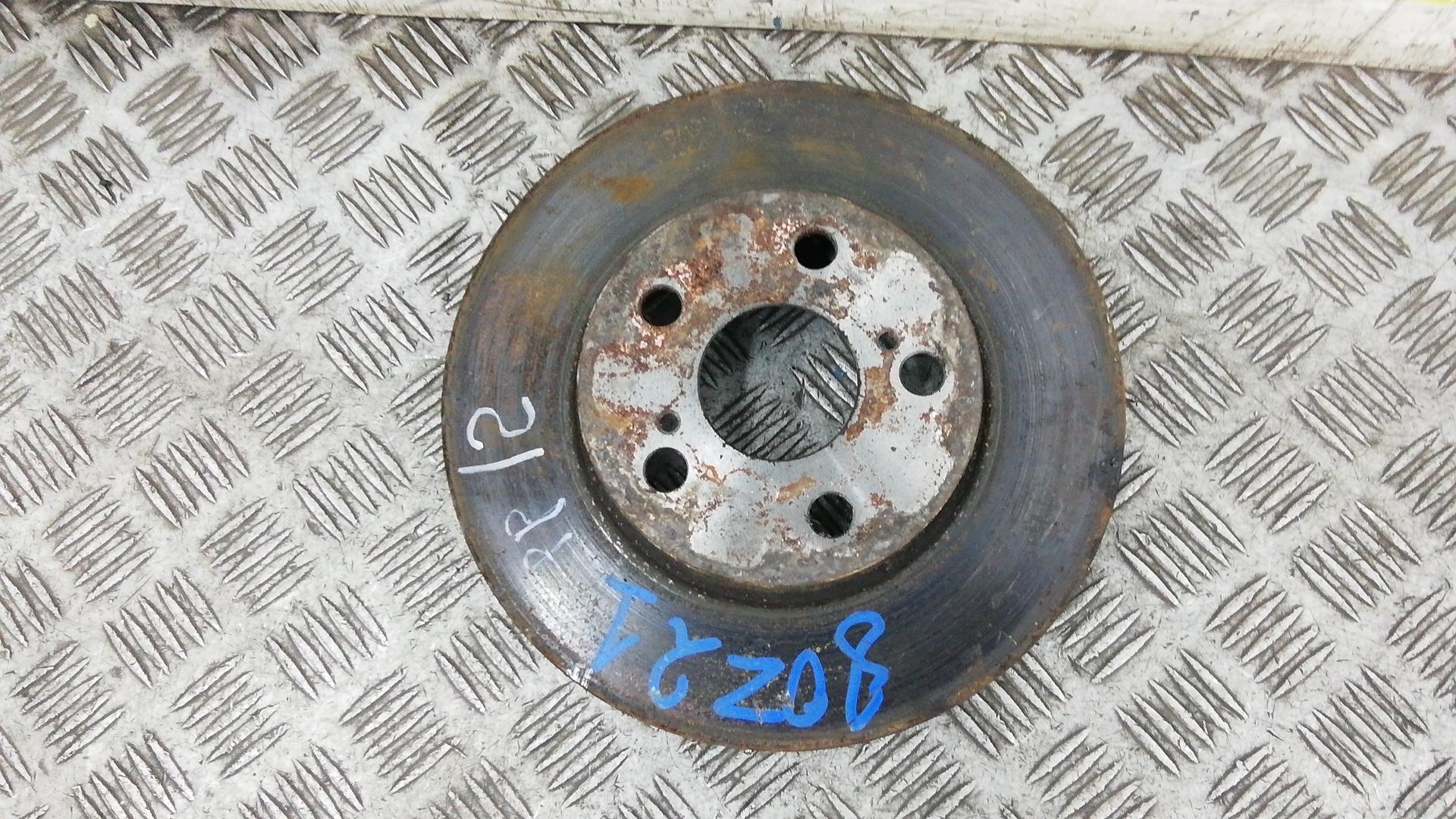 Диск тормозной передний, TOYOTA, PRIUS XW20, 2005
