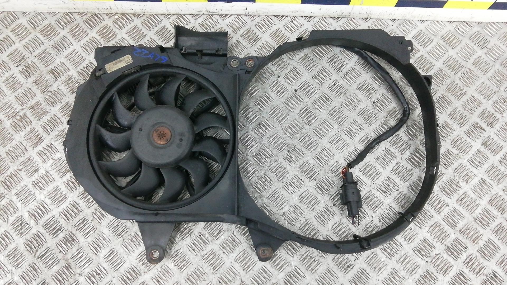 Вентилятор радиатора, AUDI, A4 B6, 2002