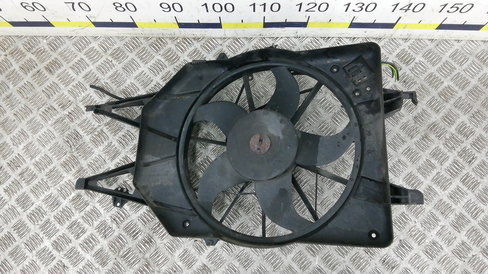 Вентилятор радиатора, FORD, FOCUS 1, 2001