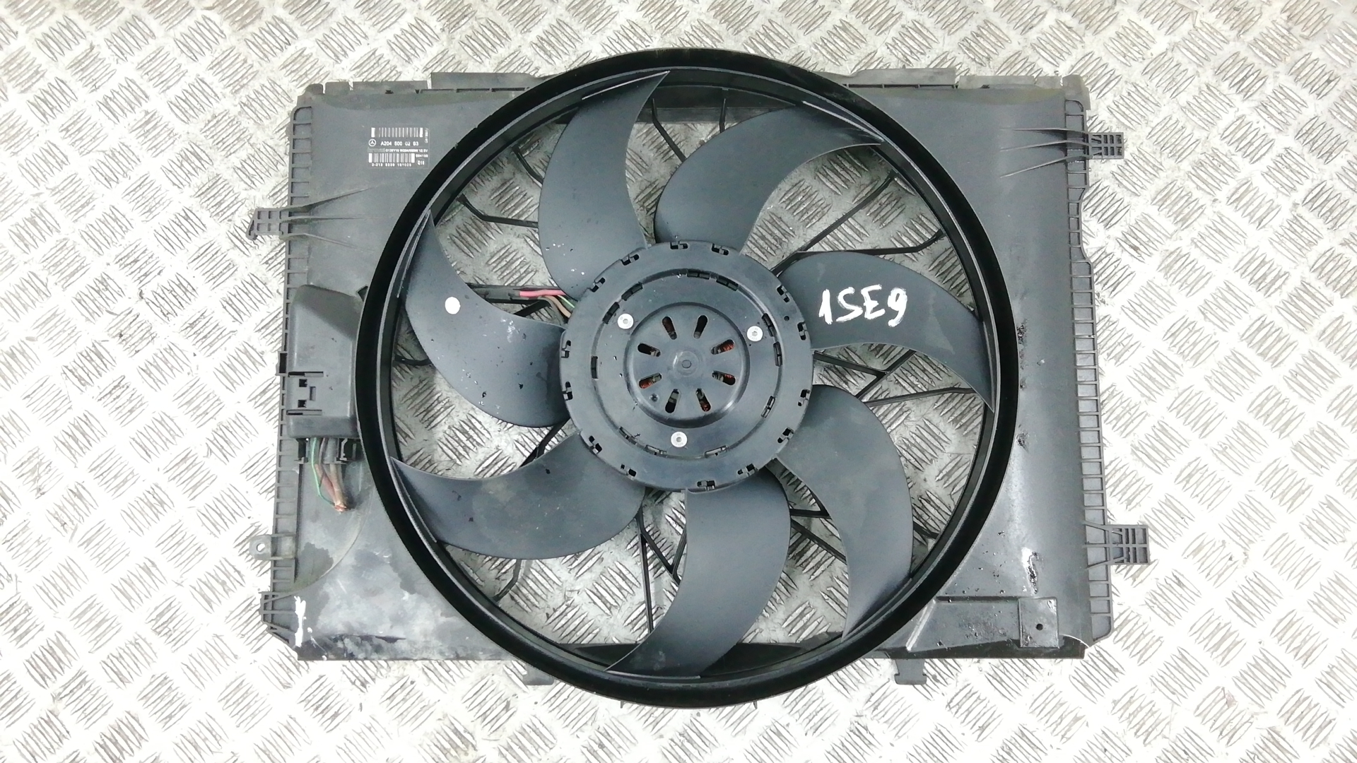 Вентилятор радиатора, MERCEDES BENZ, GLK X204, 2011