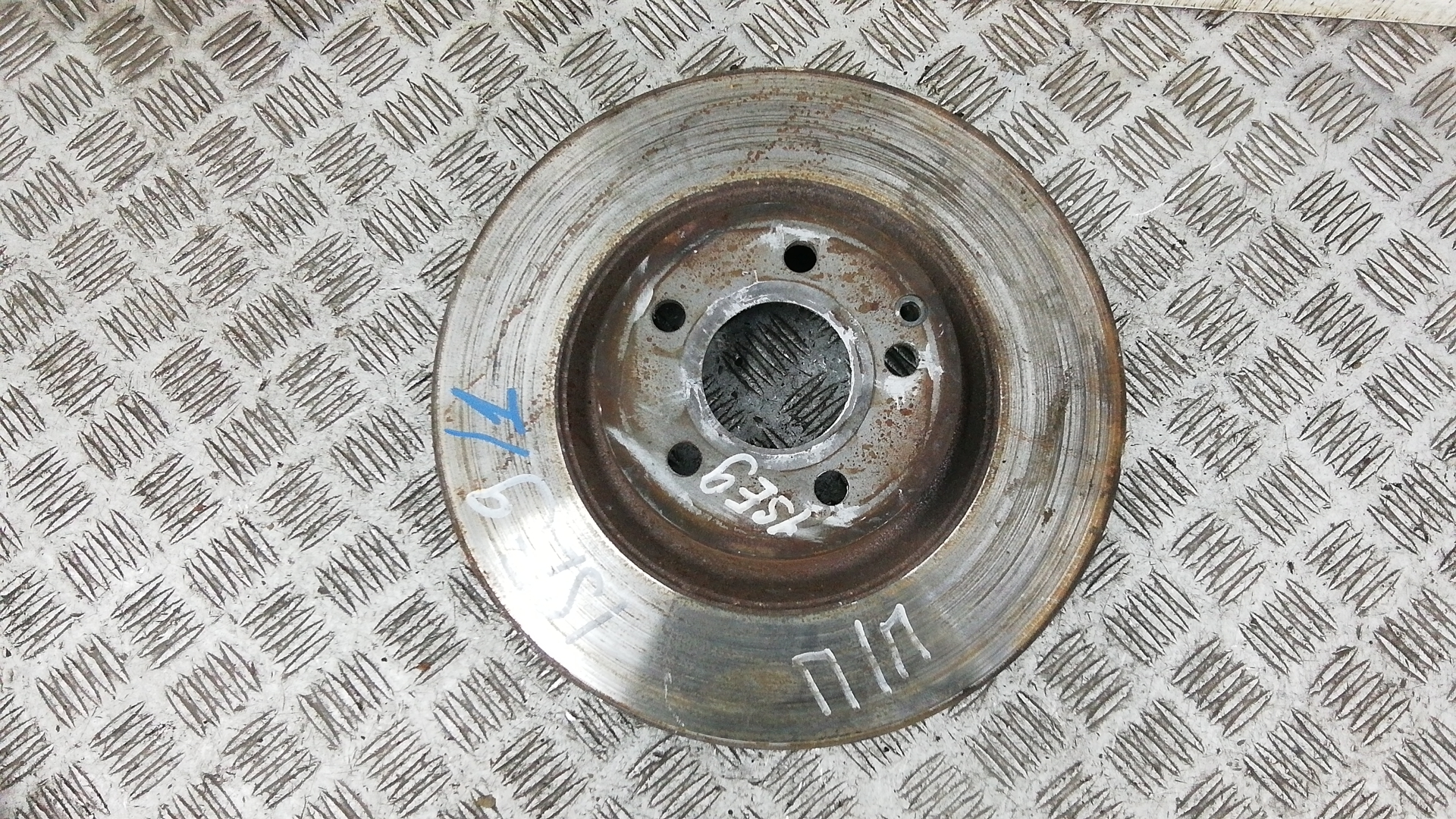 Диск тормозной передний, MERCEDES BENZ, GLK X204, 2011