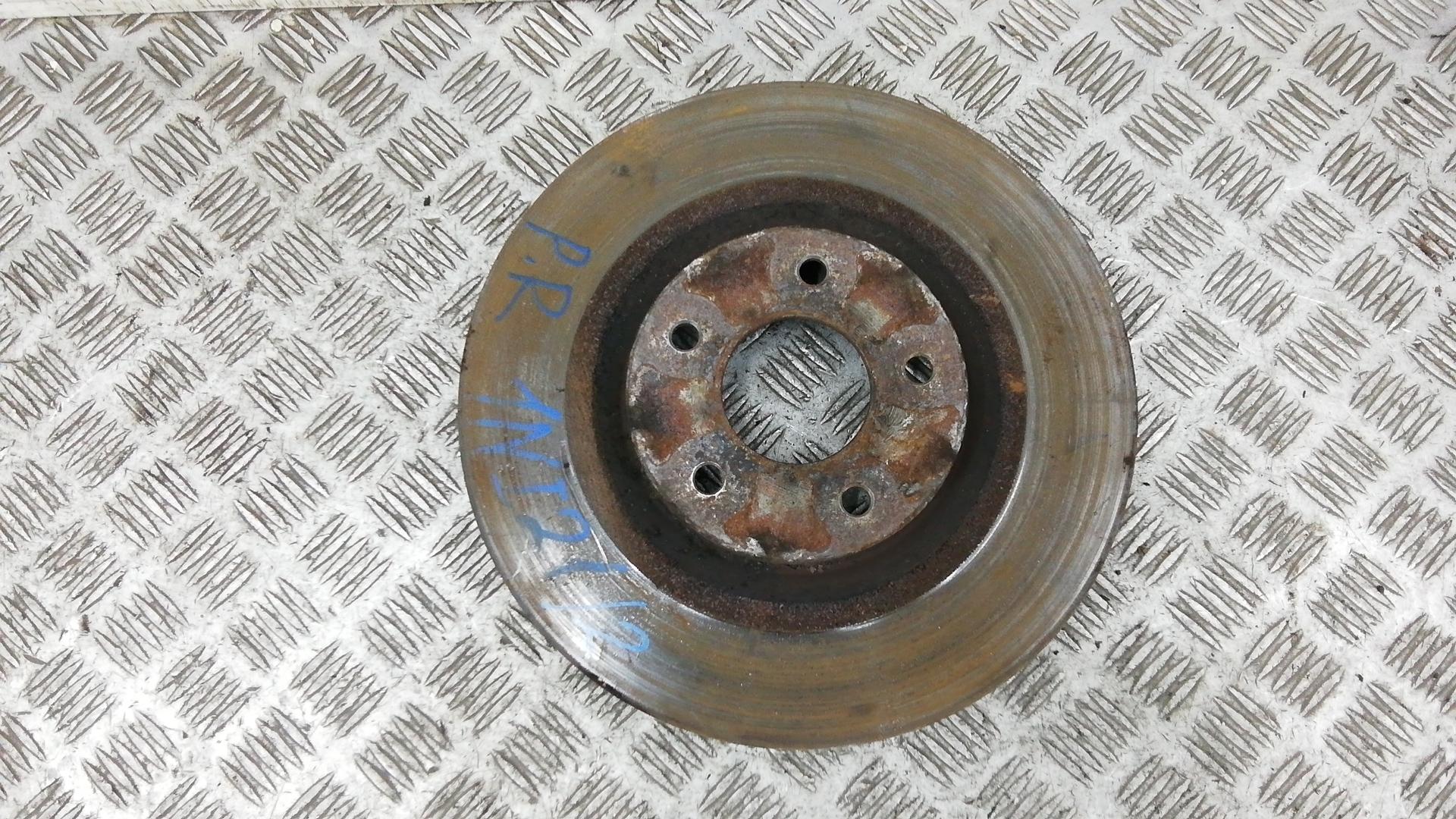 Диск тормозной передний, RENAULT, KOLEOS, 2009