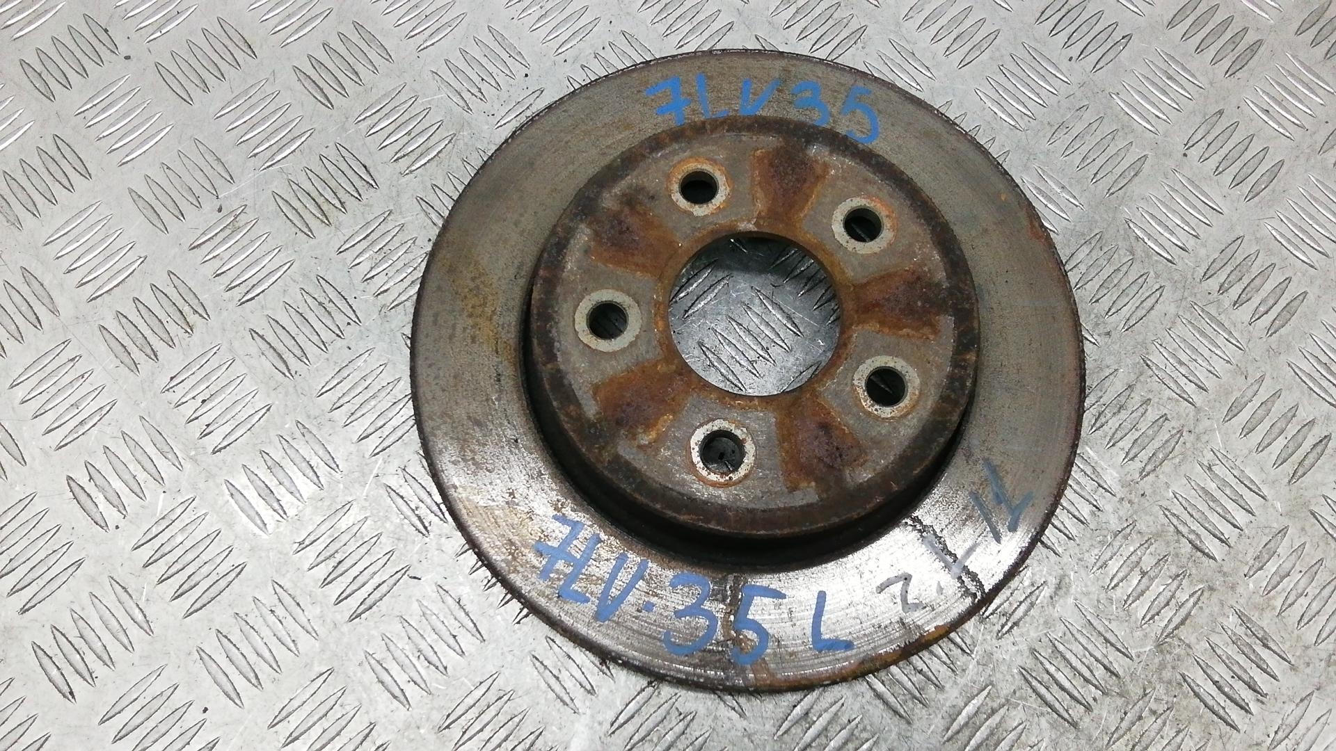 Диск тормозной задний, FORD, C-MAX 1, 2007