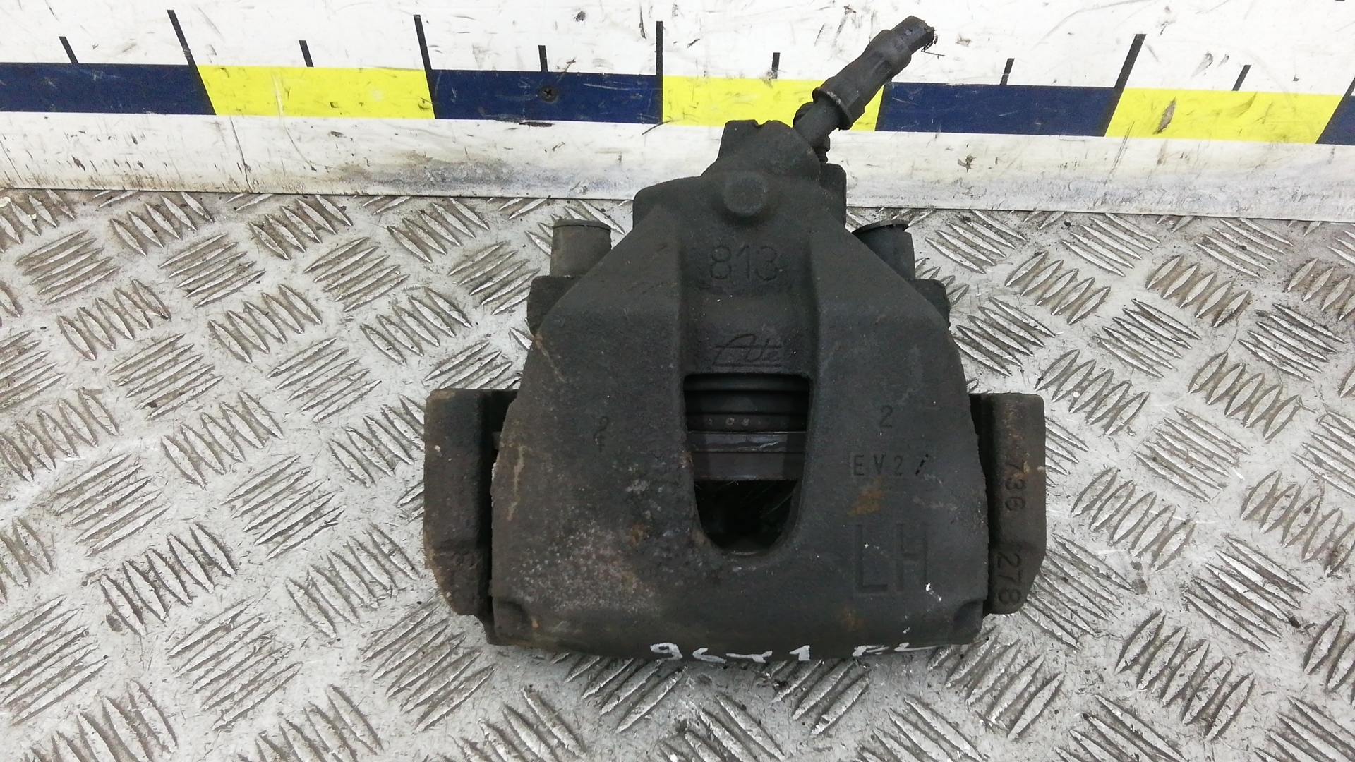 Суппорт тормозной передний левый, FORD, C-MAX 1, 2004