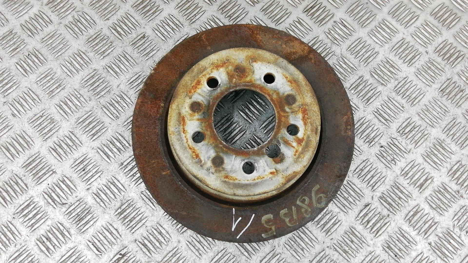 Диск тормозной задний, BMW, X1 E84, 2010