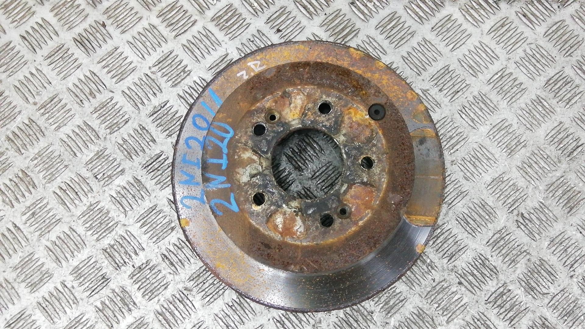 Диск тормозной задний, HYUNDAI, SANTA FE 2, 2008