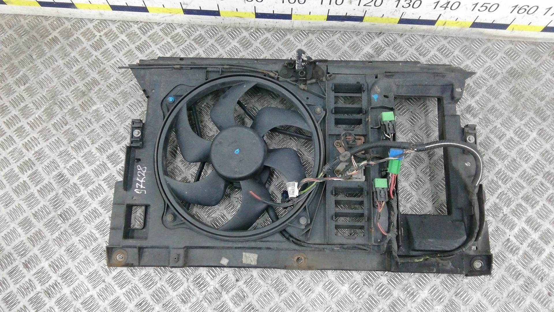 Вентилятор радиатора, PEUGEOT, 607, 2004