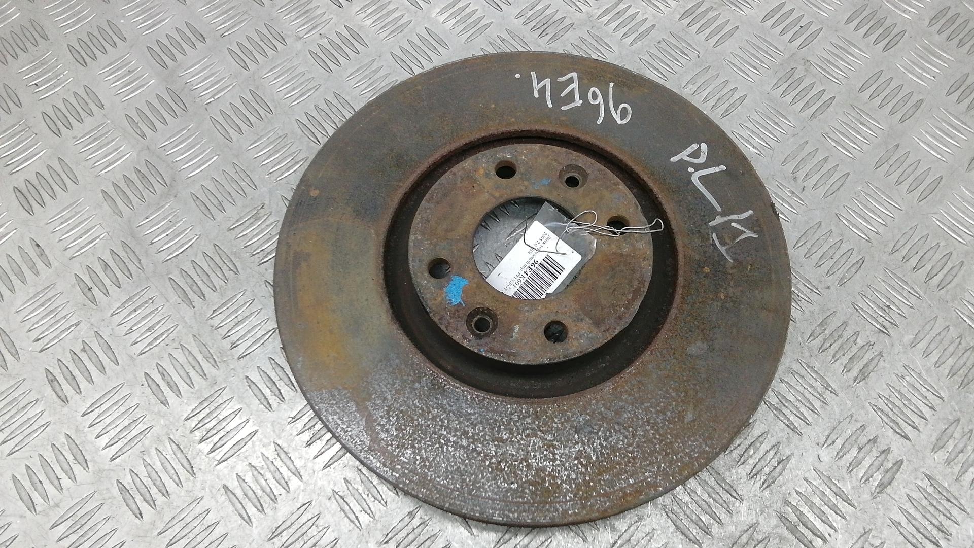 Диск тормозной передний, PEUGEOT, 307, 2005