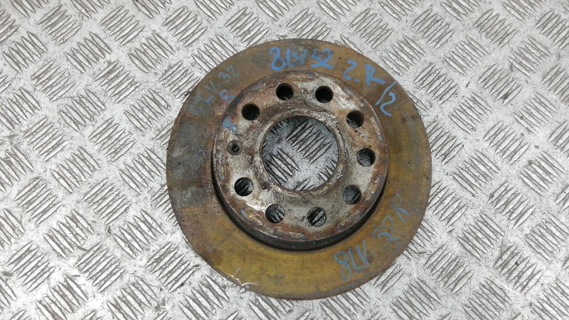 Диск тормозной задний, SKODA, OCTAVIA A5, 2009