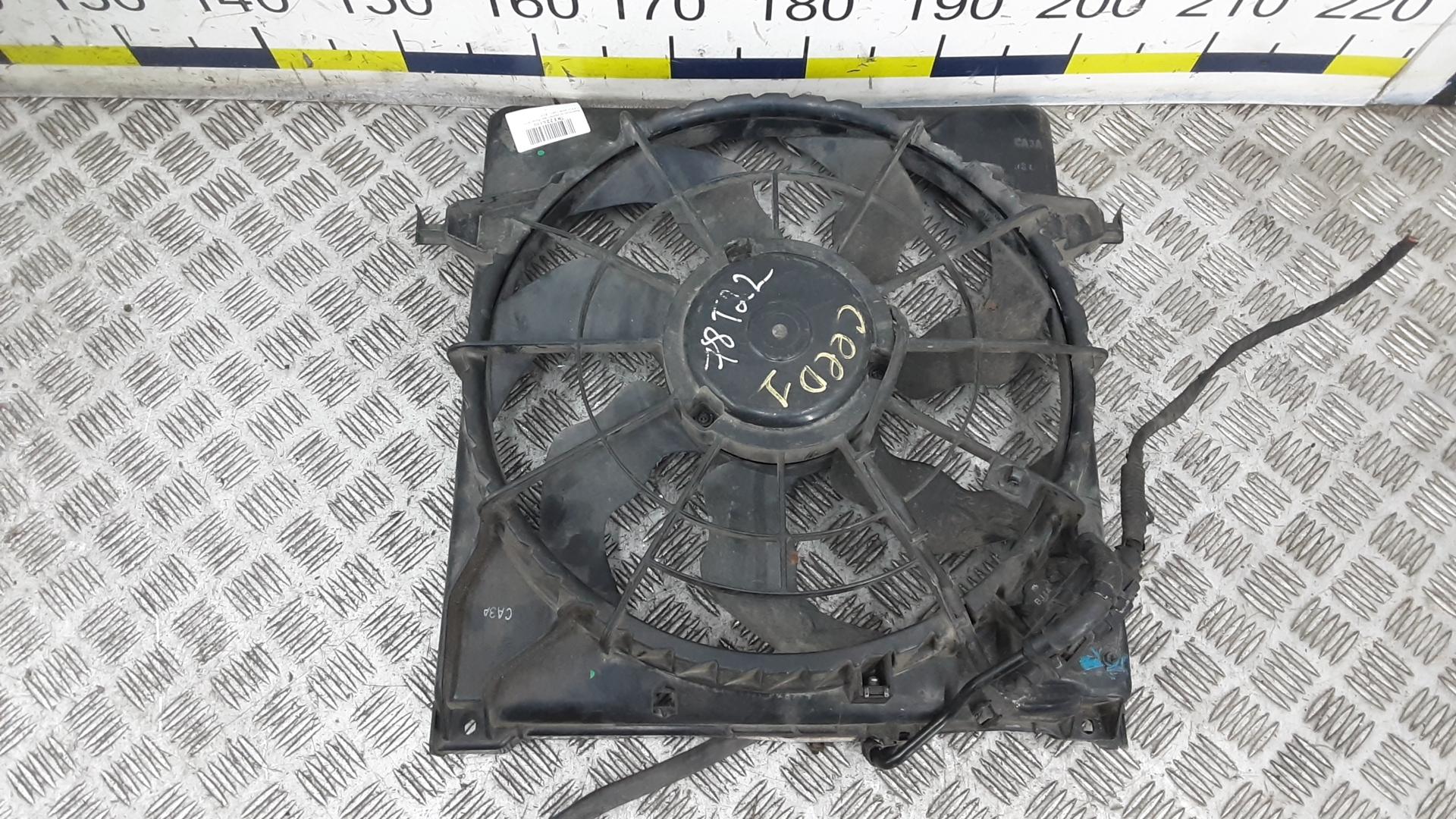 Вентилятор радиатора, KIA, CEE'D 1, 2006
