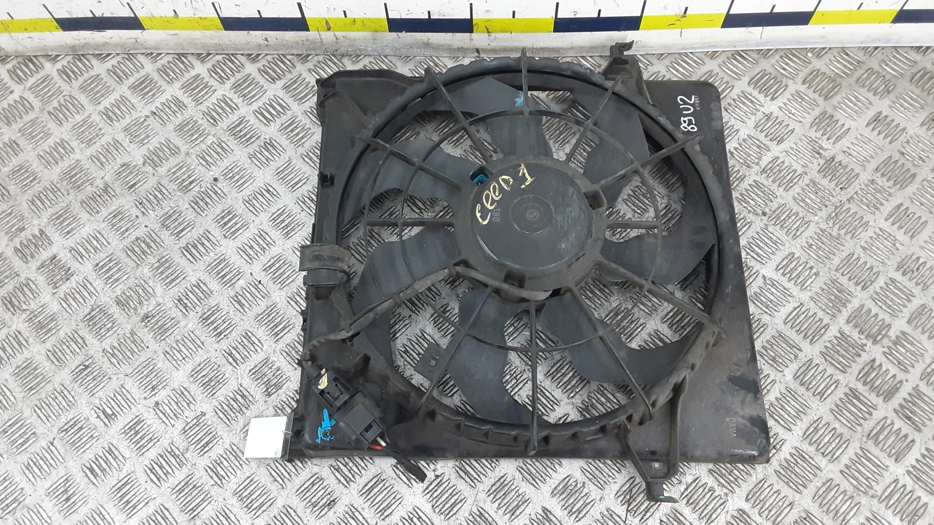 Вентилятор радиатора, KIA, CEE'D 1, 2008