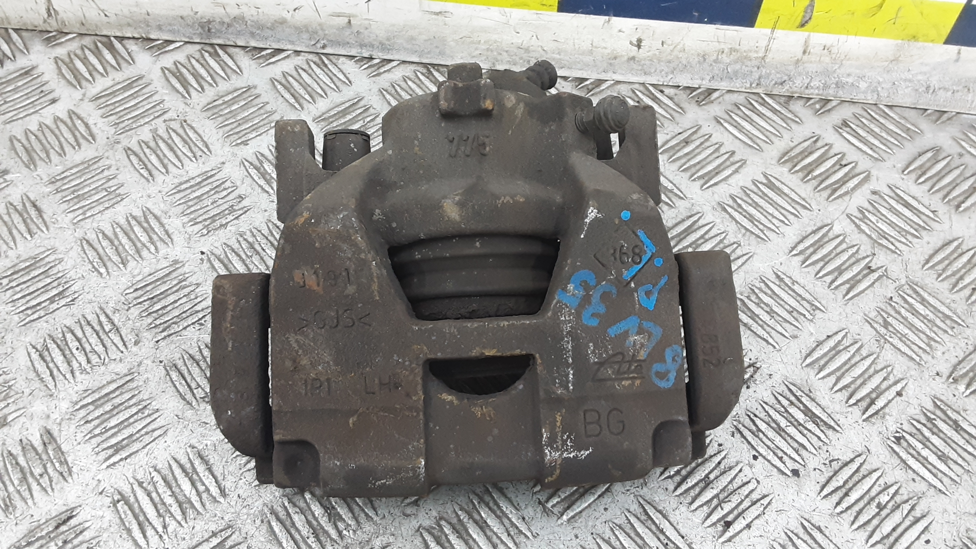 Суппорт тормозной передний левый, RENAULT, SCENIC 3 GRAND SCENIC, 2009