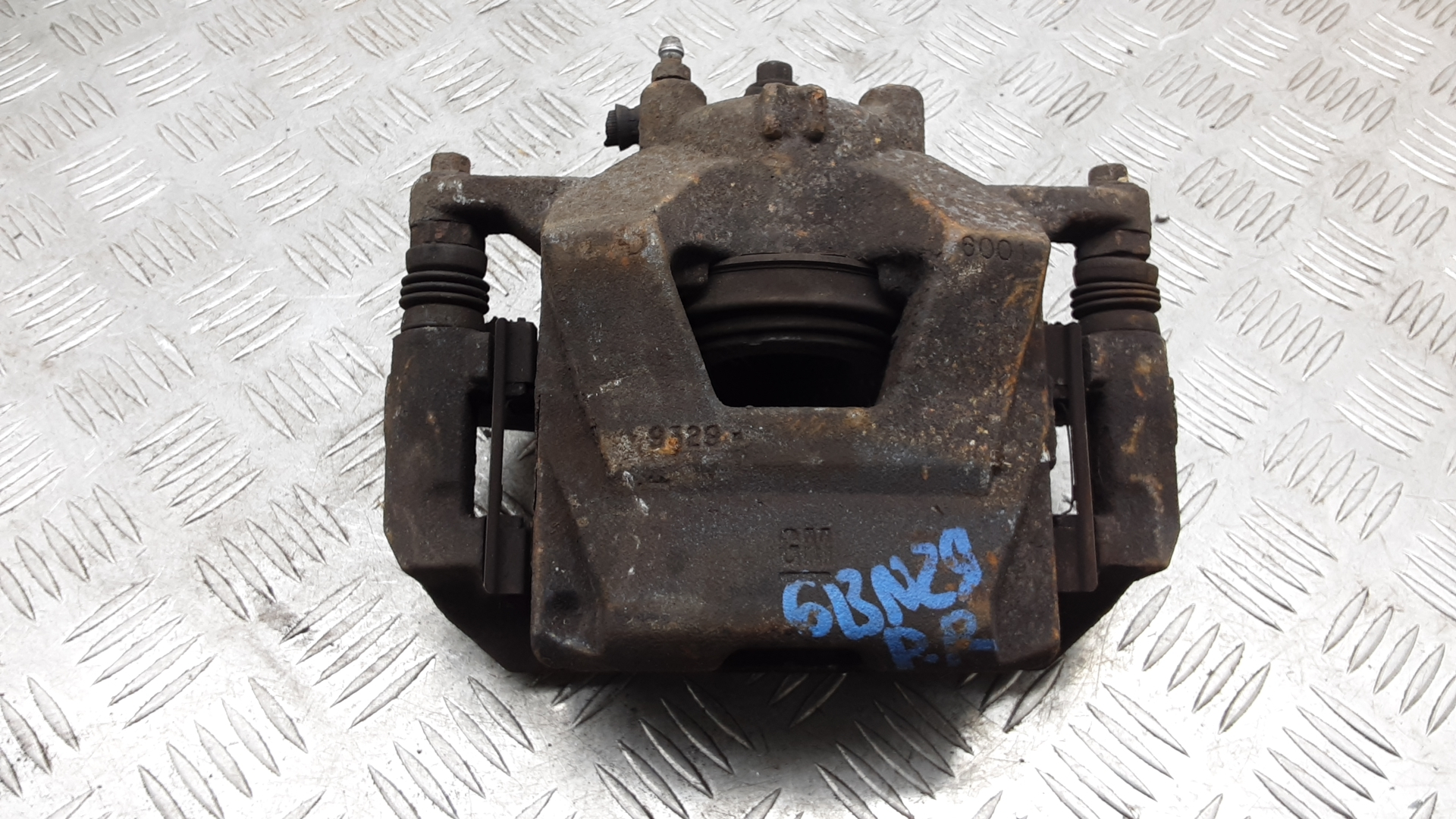 Суппорт тормозной передний правый, CHEVROLET, CRUZE J300, 2011