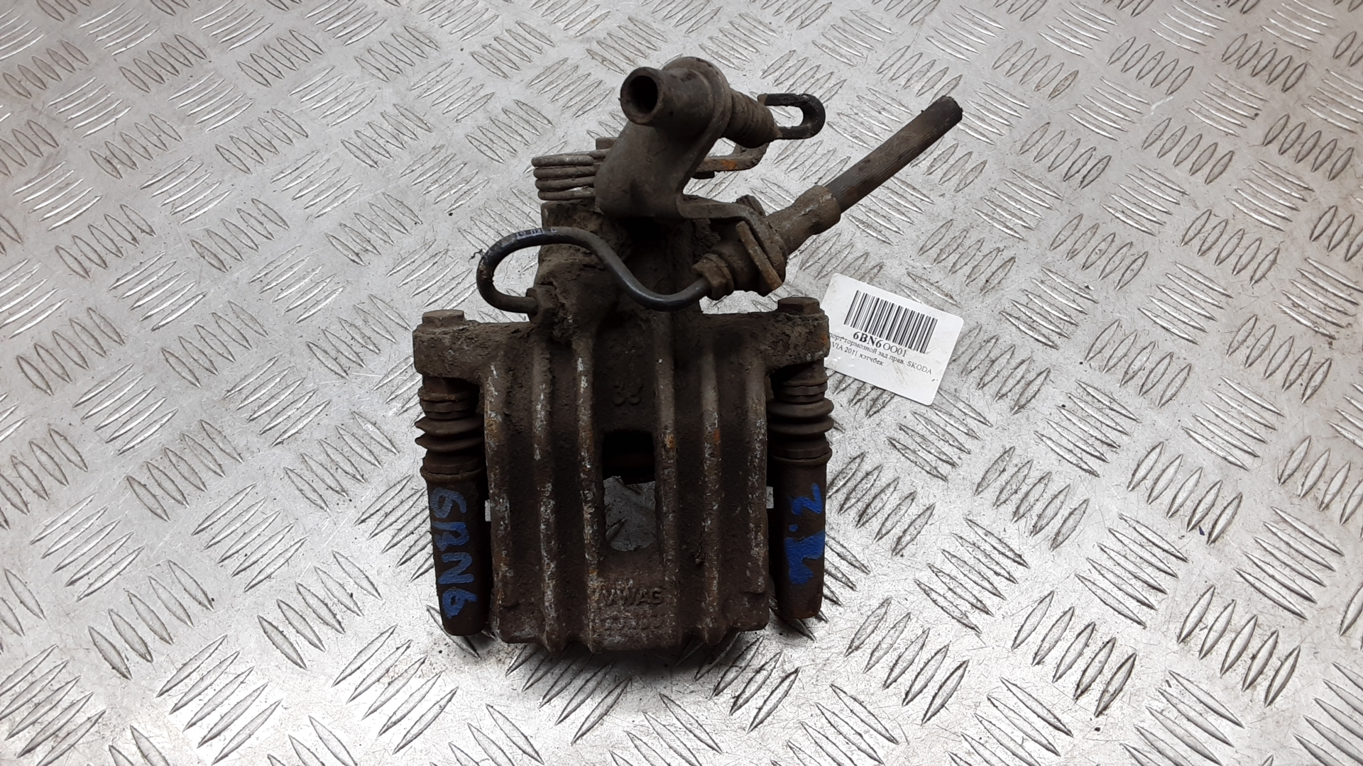 Суппорт тормозной задний левый, SKODA, OCTAVIA A5, 2011