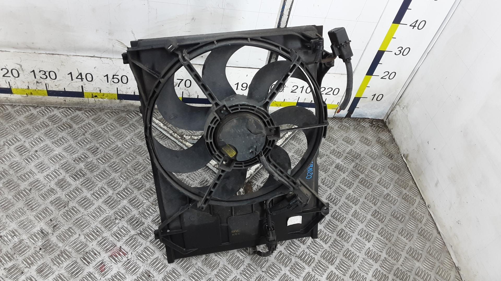 Вентилятор радиатора, KIA, RIO 2, 2010
