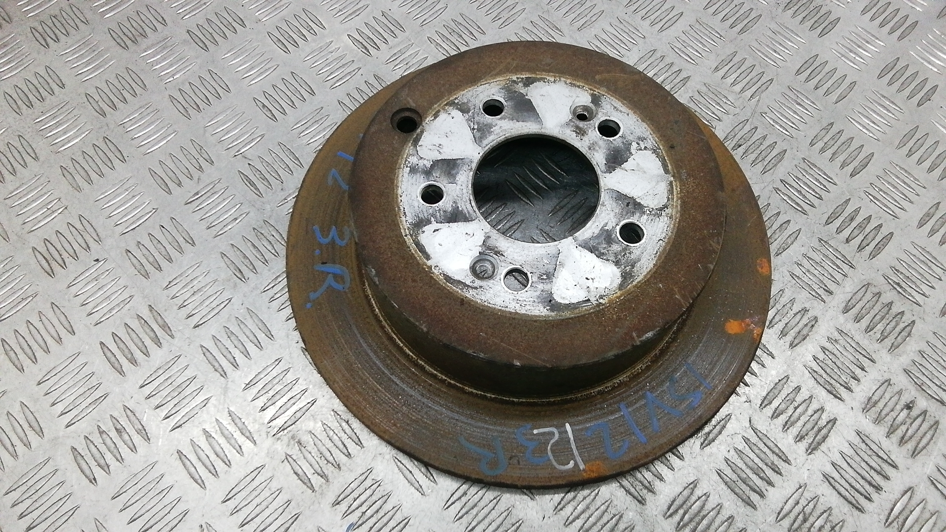 Диск тормозной задний, HYUNDAI, SANTA FE 2, 2007