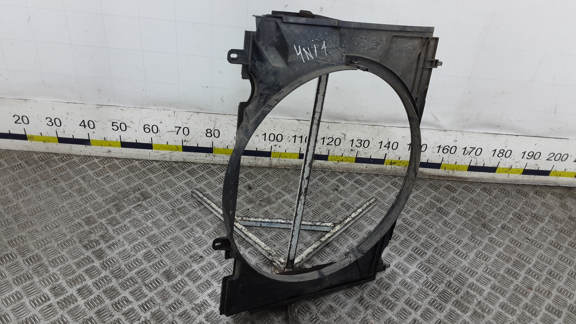 Диффузор вентилятора, FORD, RANGER 2, 2008