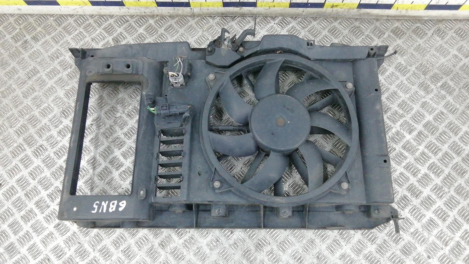 Вентилятор радиатора, PEUGEOT, 308 1, 2009