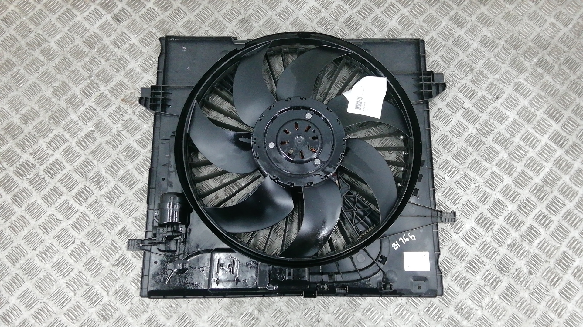 Вентилятор радиатора, MERCEDES BENZ, GLE W166, 2017