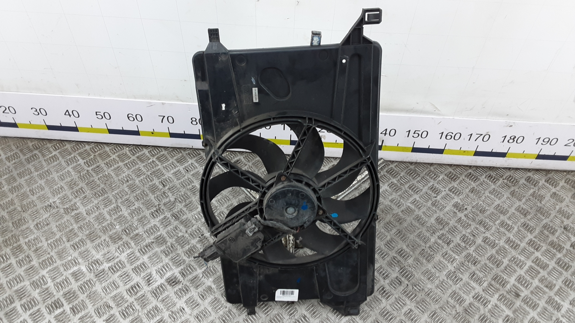 Вентилятор радиатора, FORD, C-MAX 1, 2007