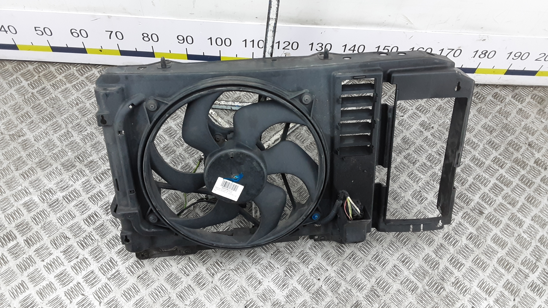 Вентилятор радиатора, CITROEN, XSARA PICASSO, 2007