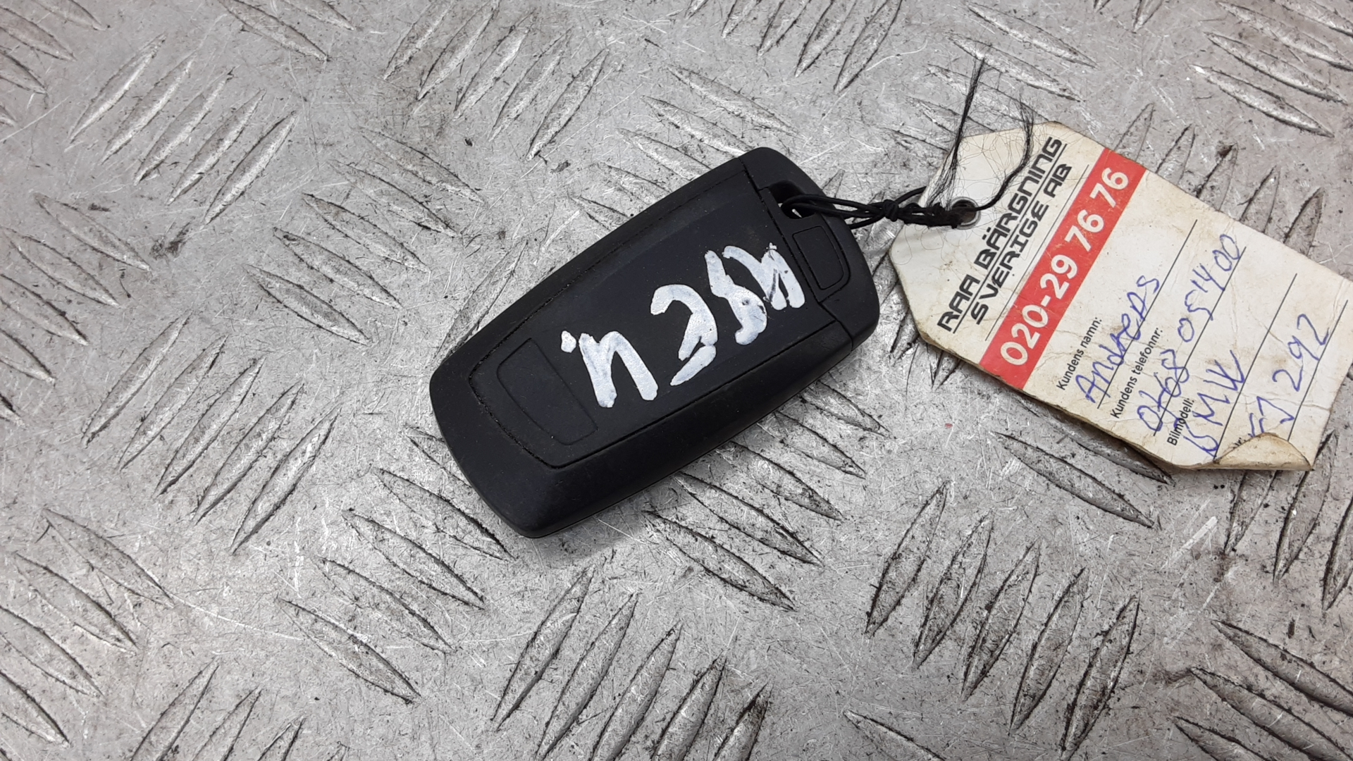 Ключ (карточка), BMW, 5 F10/F11, 2013