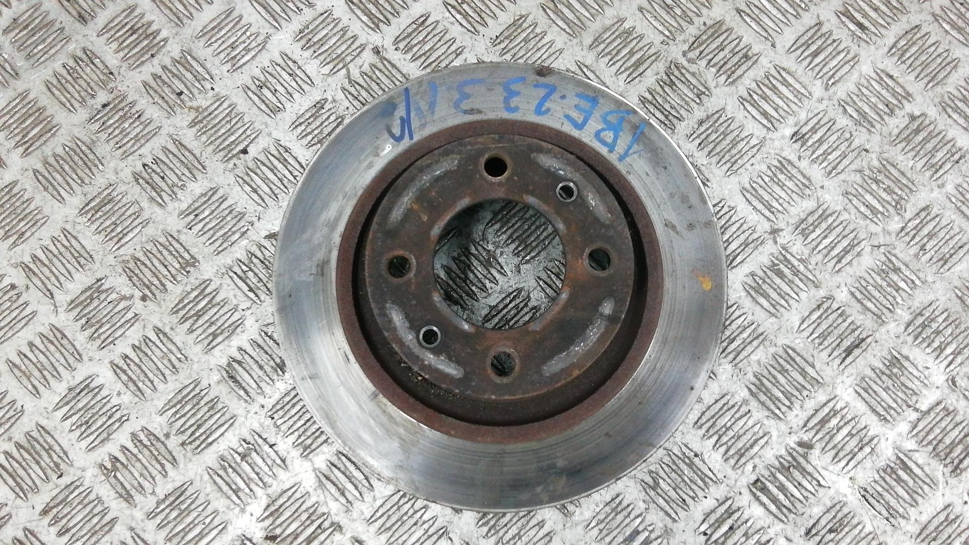 Диск тормозной задний, CITROEN, C5 1, 2001