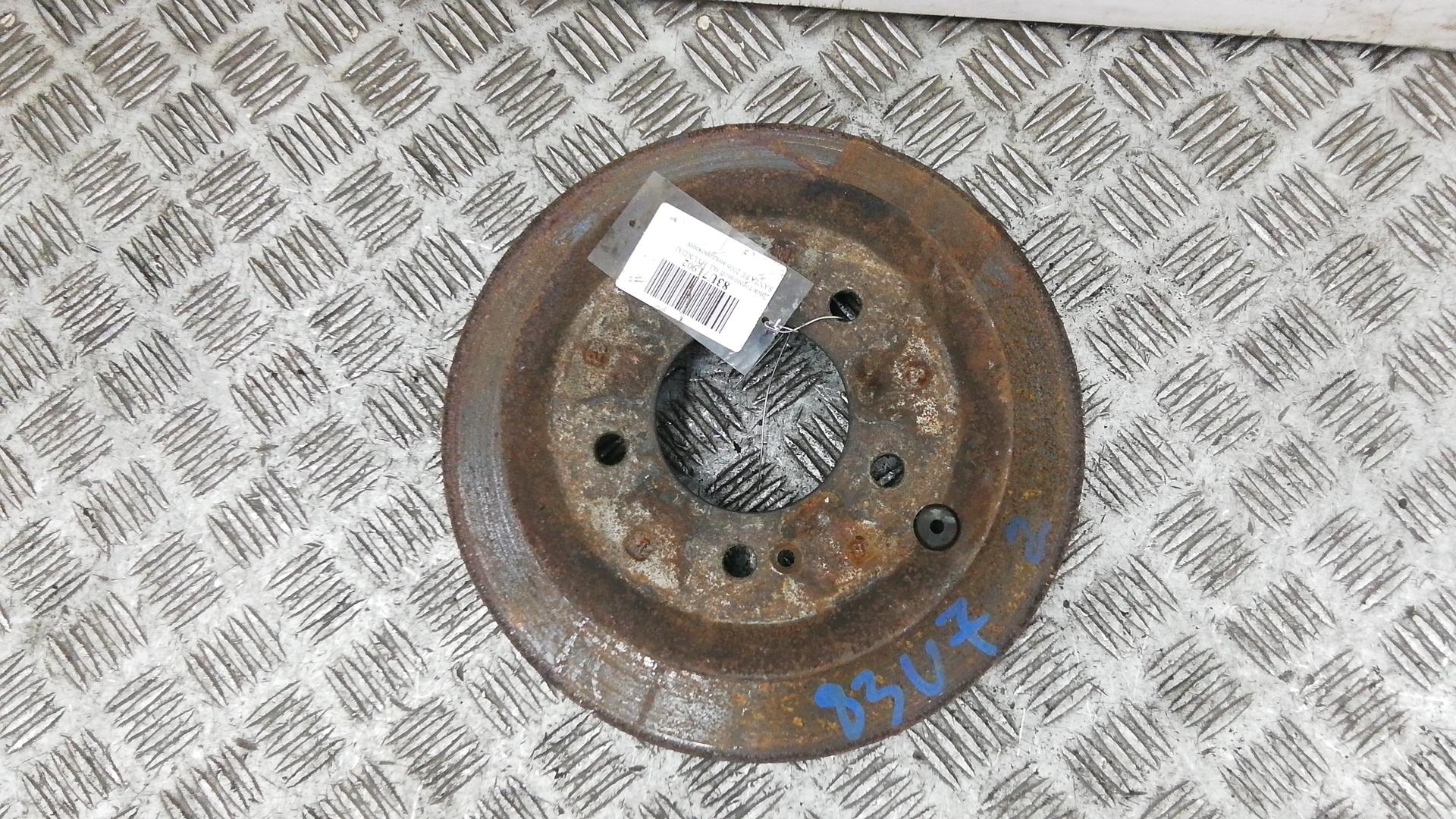 Диск тормозной задний, HYUNDAI, SANTA FE 1, 2006