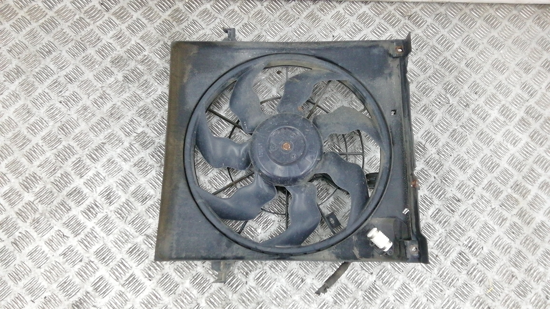 Вентилятор радиатора, KIA, CEE'D 1, 2009