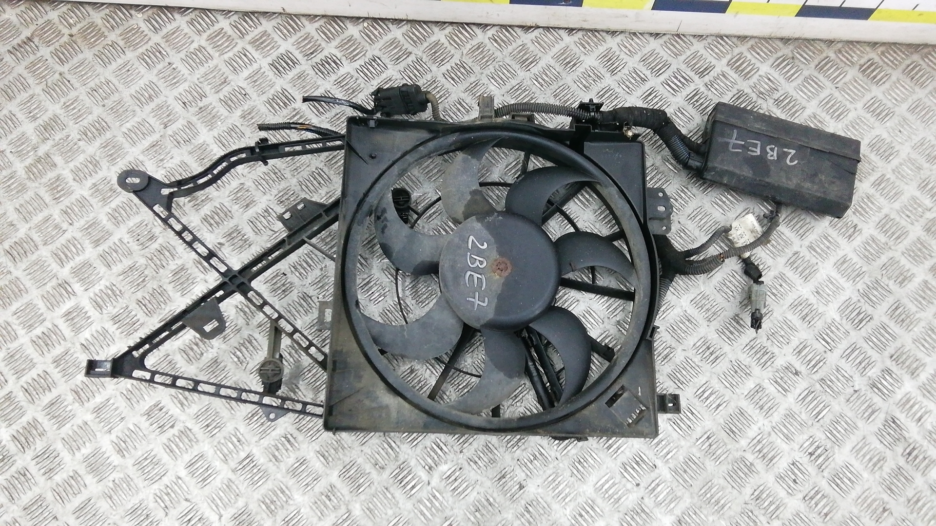 Вентилятор радиатора, OPEL, VECTRA B, 1998