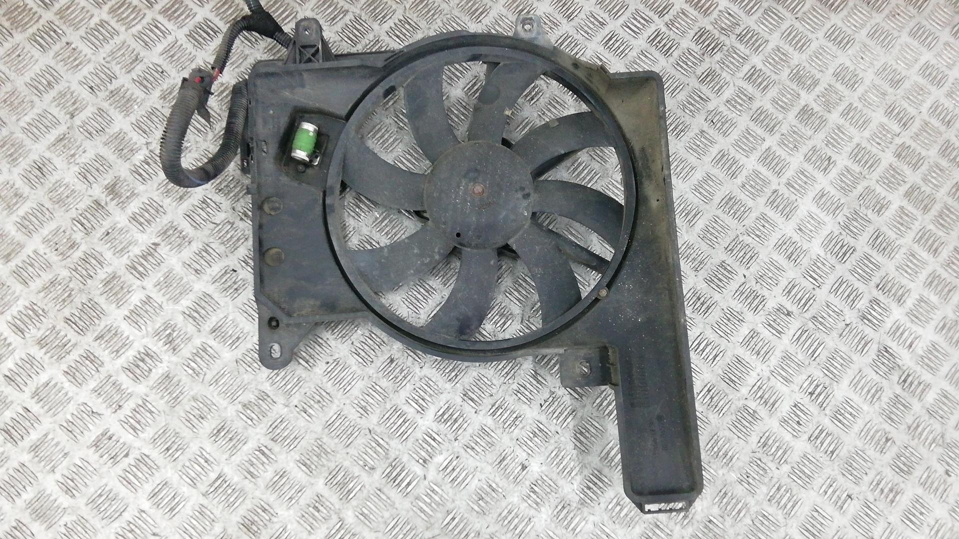 Вентилятор радиатора, OPEL, MERIVA A, 2005
