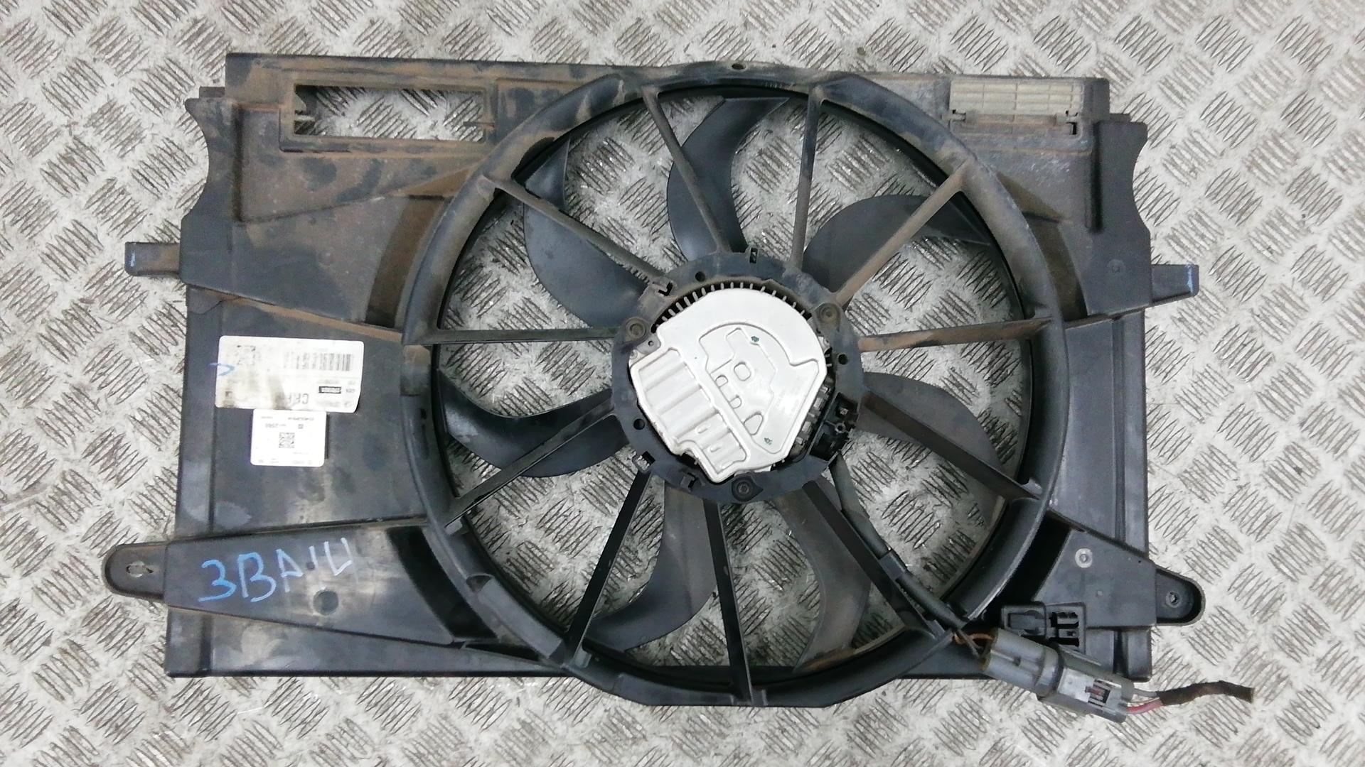 Вентилятор радиатора, CHEVROLET, CRUZE 2, 2016