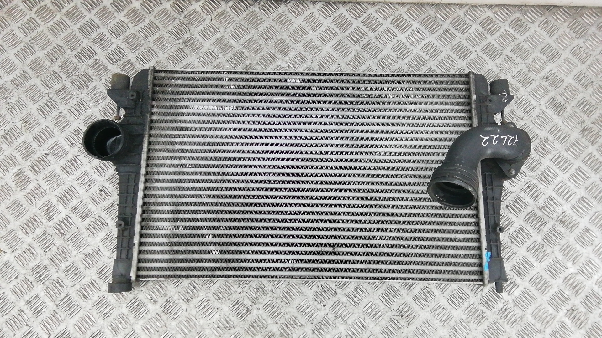 Радиатор интеркуллера, VOLKSWAGEN, SHARAN 2, 2007