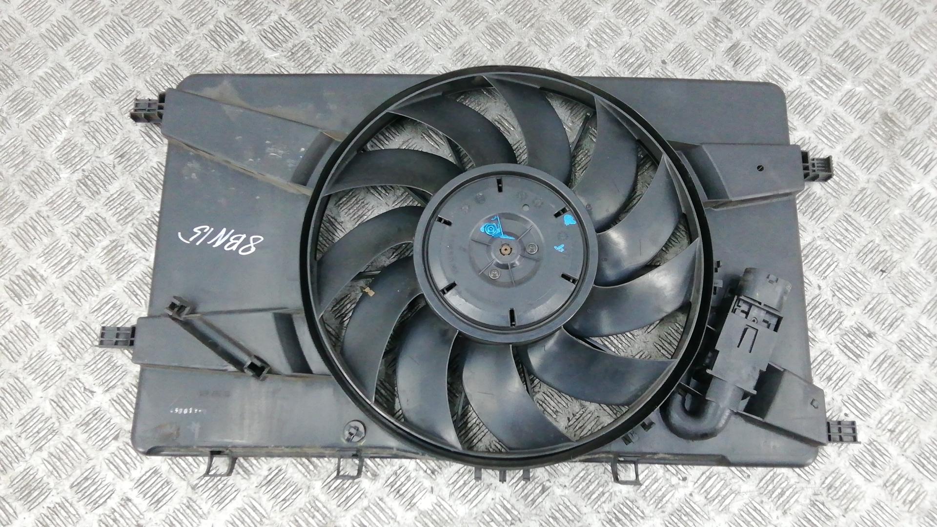 Вентилятор радиатора, OPEL, ASTRA J, 2014