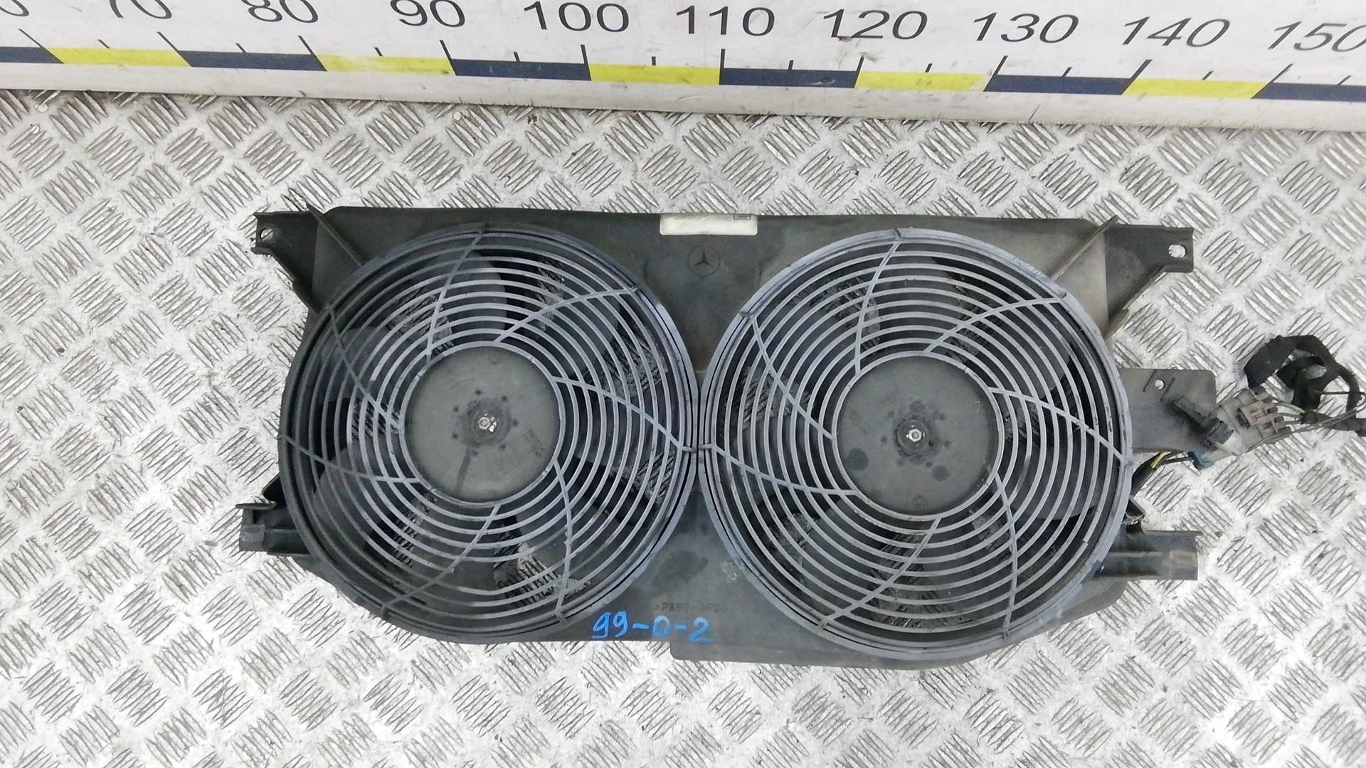 Вентилятор радиатора, MERCEDES BENZ, M-CLASS W163, 1999