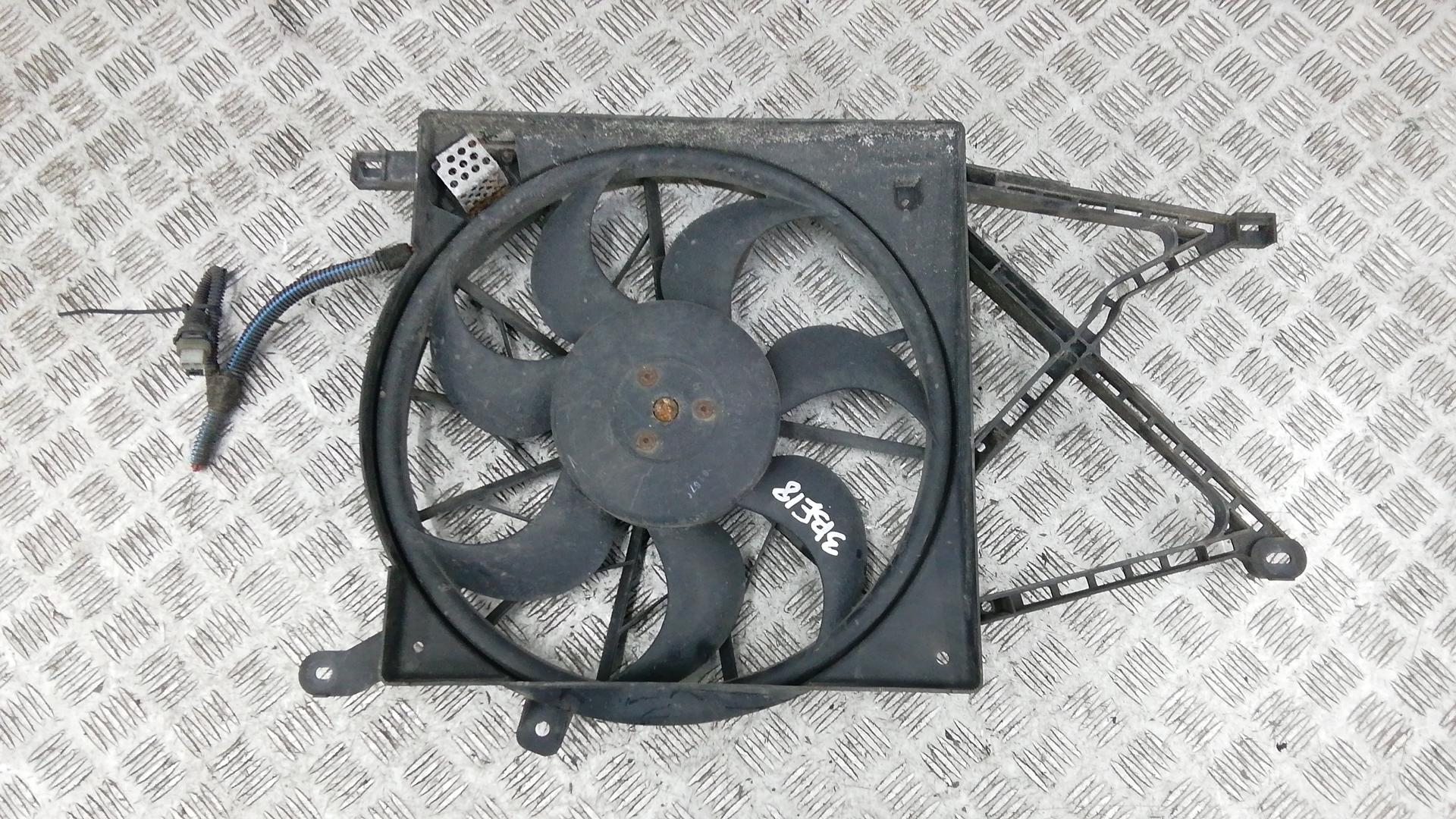 Вентилятор радиатора, OPEL, ZAFIRA A, 2002