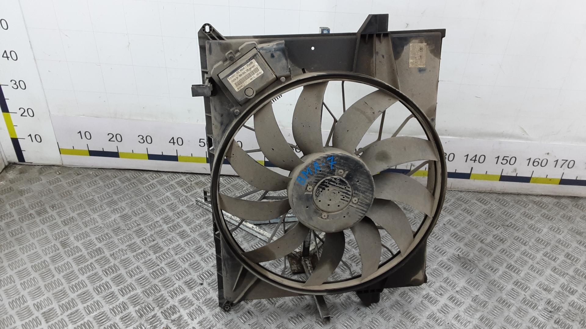 Вентилятор радиатора, MERCEDES BENZ, M-CLASS W164, 2005