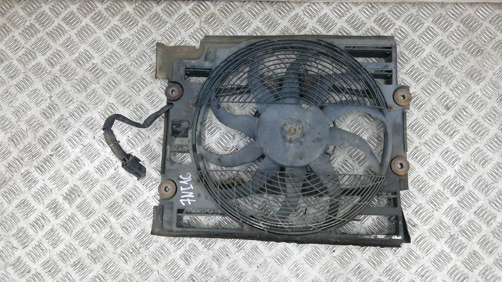 Вентилятор радиатора, BMW, 5 E39, 1997