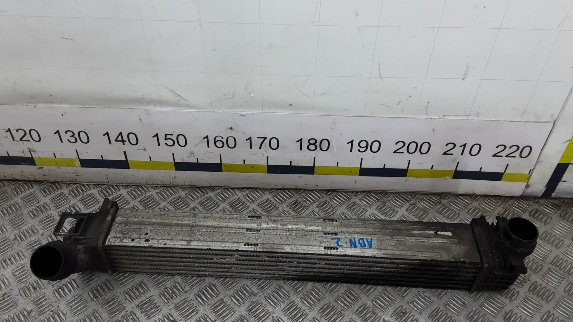Радиатор интеркуллера, RENAULT, MEGANE 3, 2010