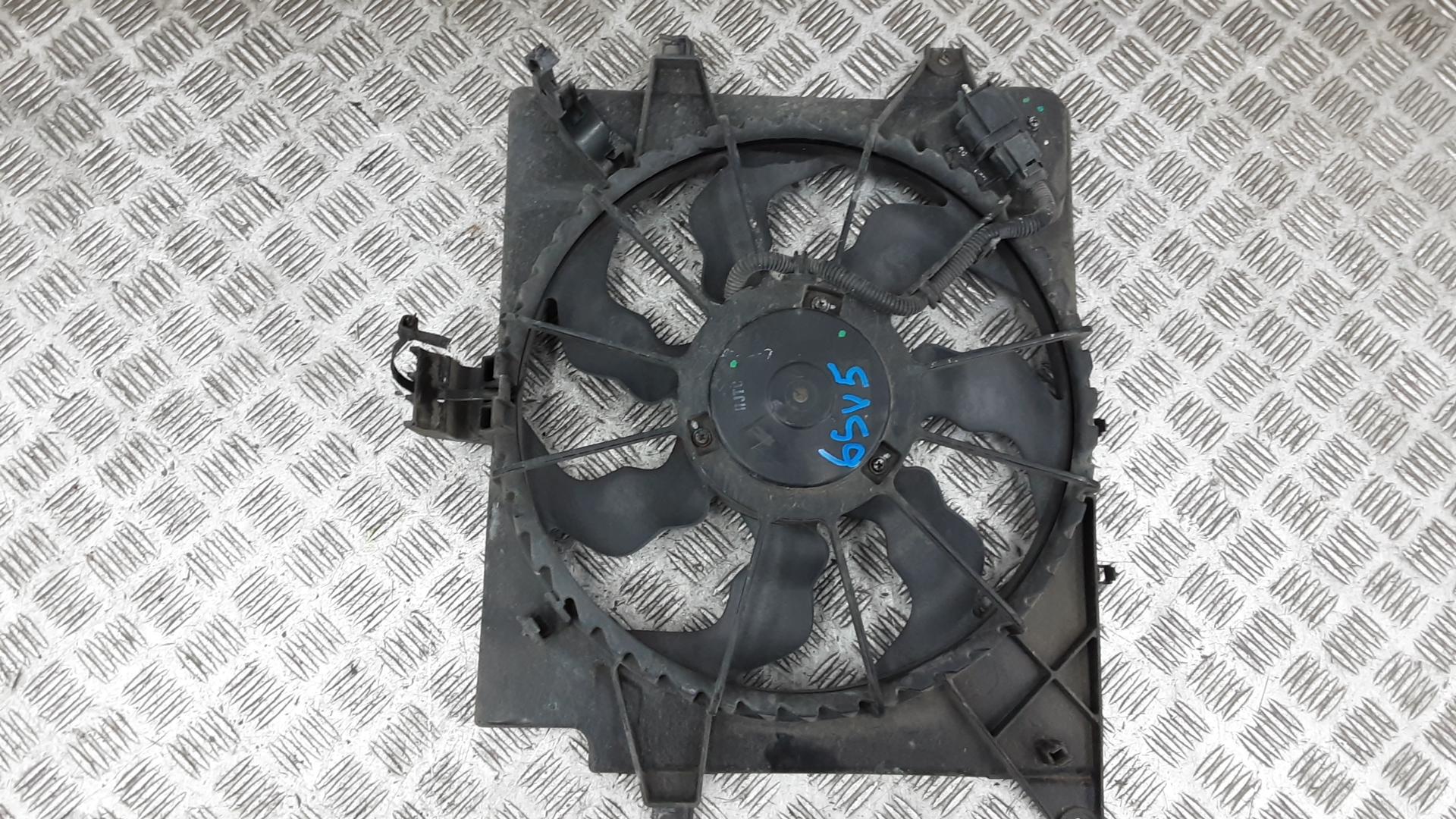 Вентилятор радиатора, KIA, CEE'D 2, 2012
