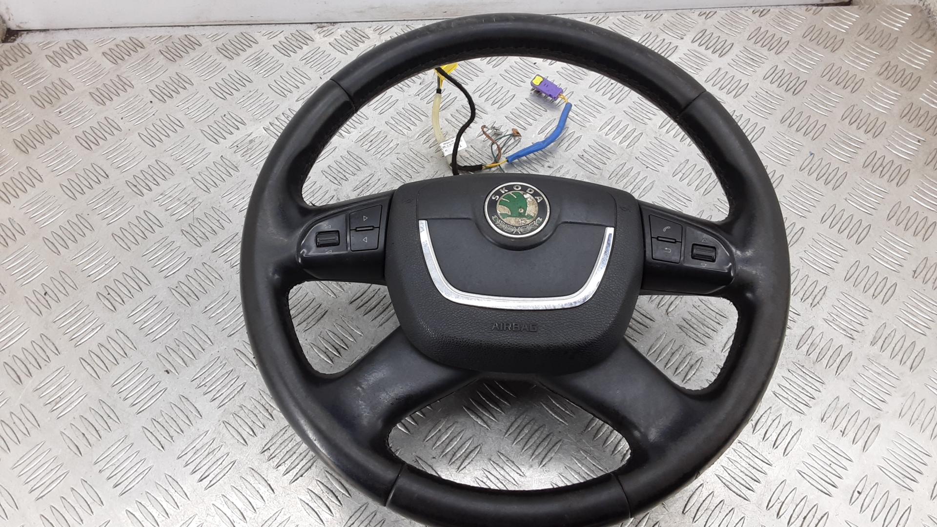Рулевое колесо, SKODA, OCTAVIA A5, 2012