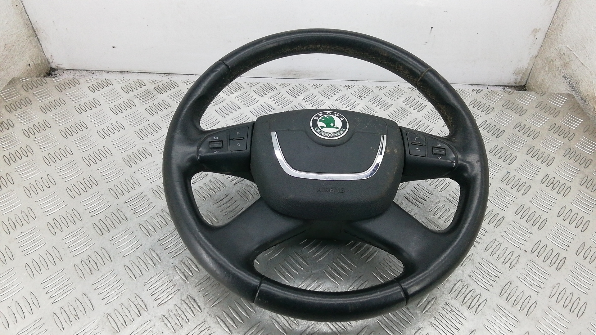 Рулевое колесо, SKODA, YETI 1, 2010