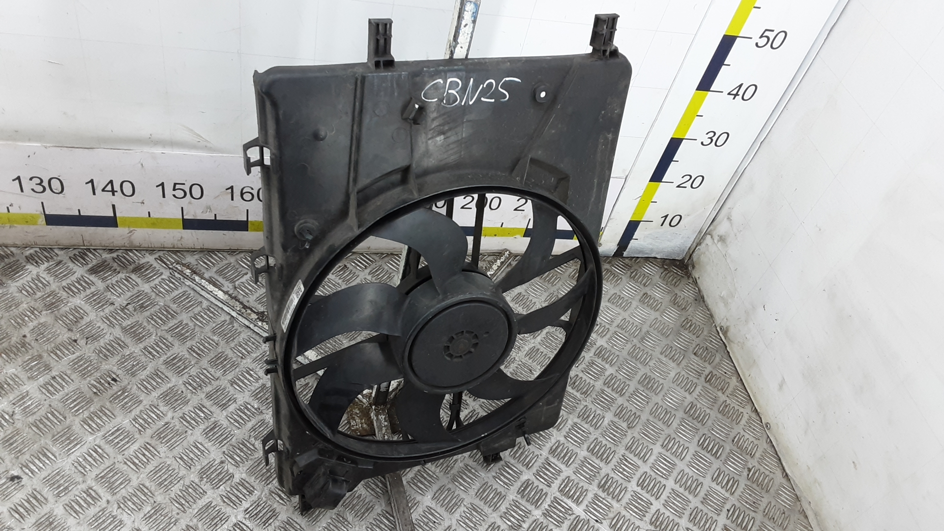 Вентилятор радиатора, OPEL, ASTRA J, 2012