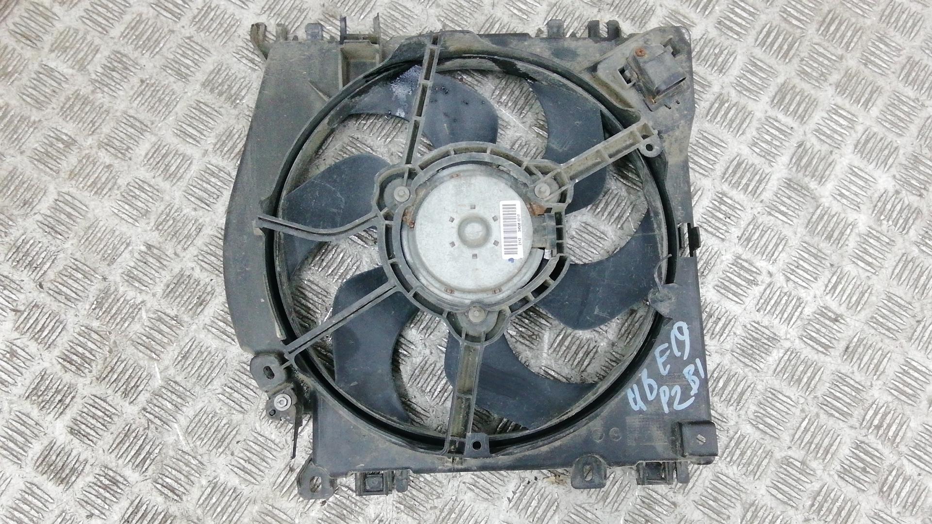 Вентилятор радиатора, RENAULT, MODUS 2, 2009