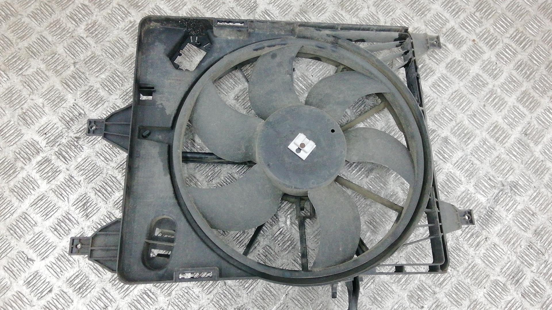 Вентилятор радиатора, RENAULT, CLIO 2, 2005