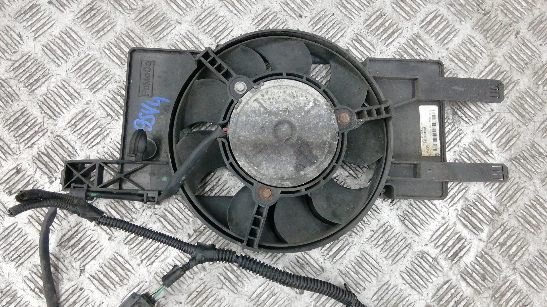 Вентилятор радиатора, FORD, FOCUS 3, 2012