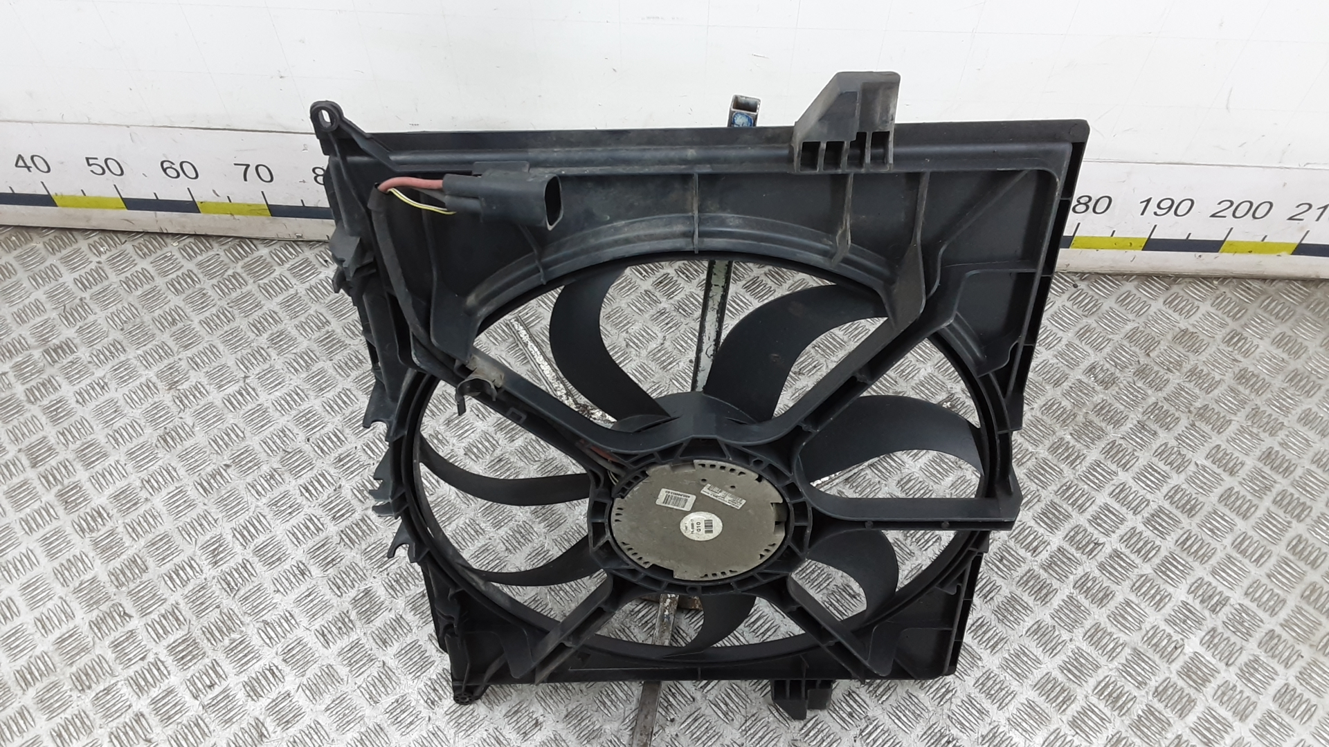 Вентилятор радиатора, MERCEDES BENZ, M-CLASS W164, 2007