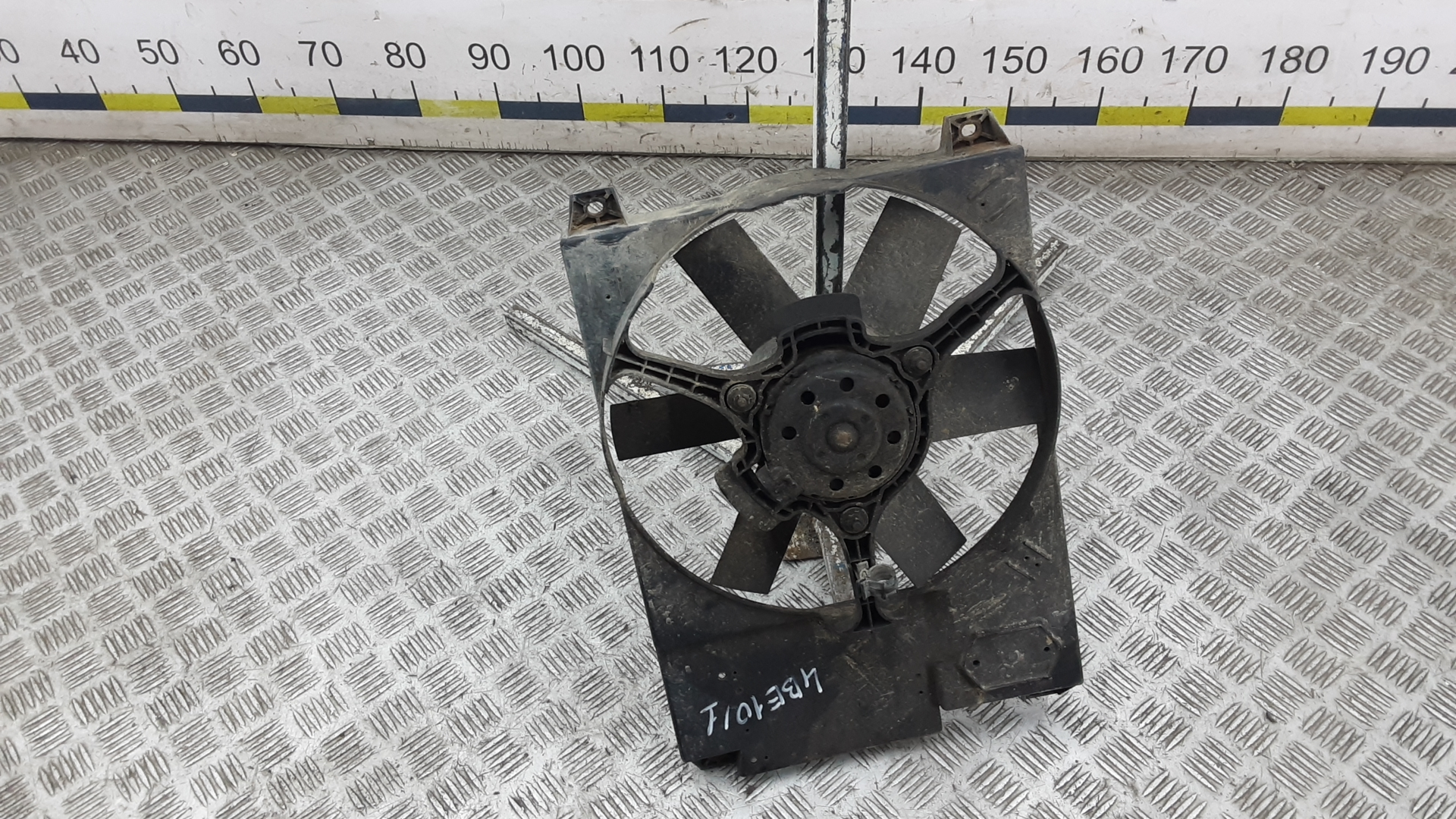 Вентилятор радиатора, CITROEN, JUMPER 2, 2004