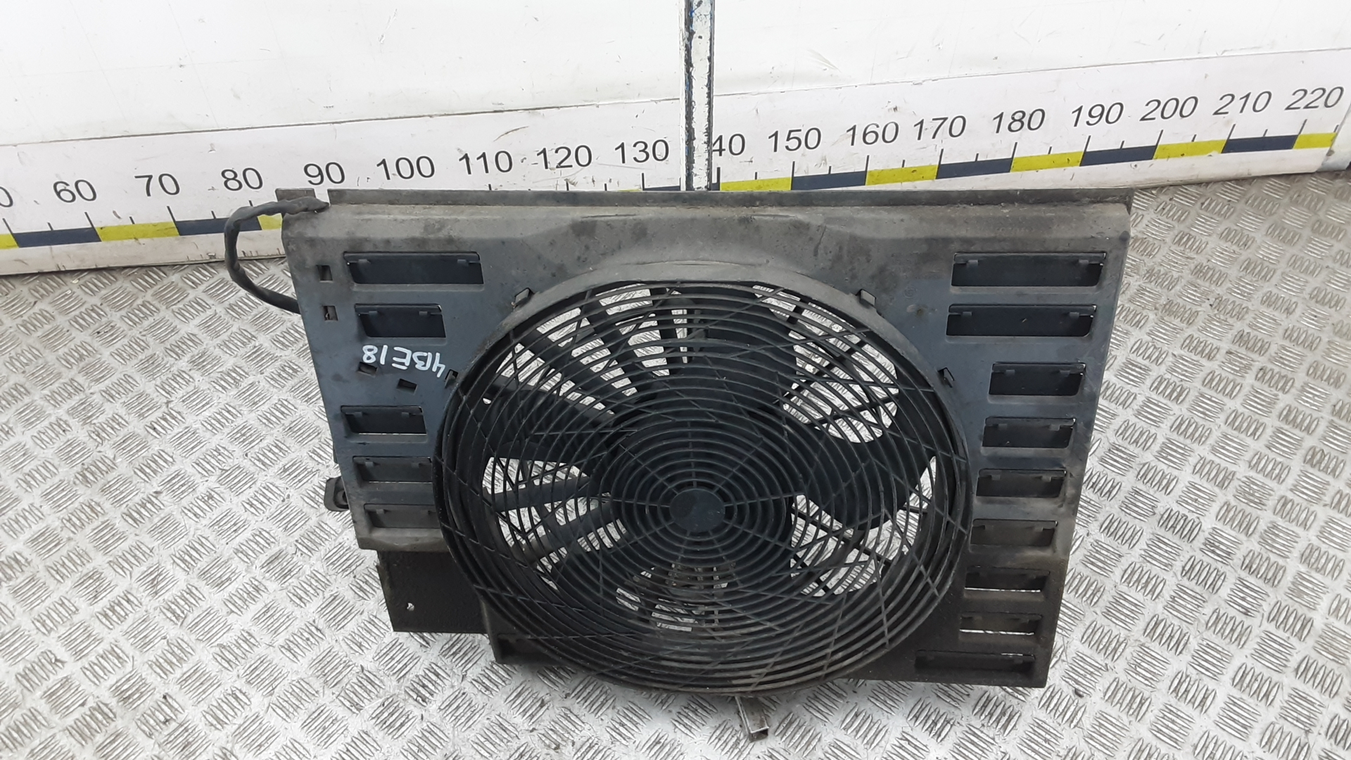 Вентилятор радиатора, BMW, 7 E65, 2003